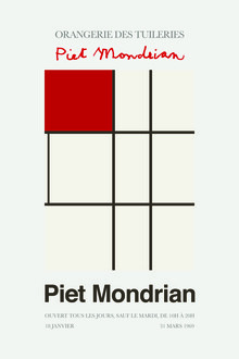 Art Classics, Piet Mondrian – Orangerie des Tuileries (Germany, Europe)
