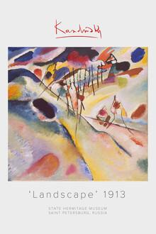 Art Classics, Kandinsky Landschaft 1913 (Deutschland, Europa)