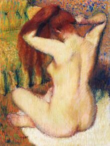 Art Classics, Edgar Degas: Woman Combing Her Hair (Germany, Europe)