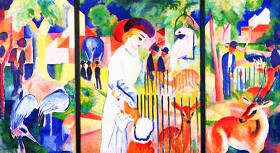 Art Classics, August Macke: Großer Zoologischer Garten (Germany, Europe)
