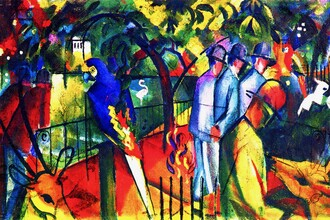 Art Classics, August Macke: Zoologischer Garten (Germany, Europe)