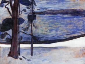 Art Classics, Edvard Munch: Winter in Nordstrand (Deutschland, Europa)