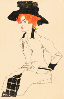 Art Classics, Egon Schiele: Portrait of a Woman (Germany, Europe)