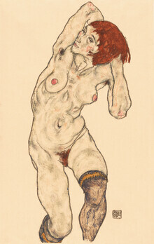 Art Classics, Egon Schiele: Nude in Black Stockings (Deutschland, Europa)