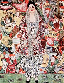 Art Classics, Gustav Klimt: Portrait of Friederike Maria Beer (Germany, Europe)