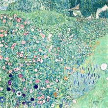 Art Classics, Gustav Klimt: Italian garden landscape (Germany, Europe)