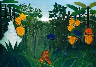 Art Classics, Henri Rousseau: Die Mahlzeit des Löwen (Deutschland, Europa)