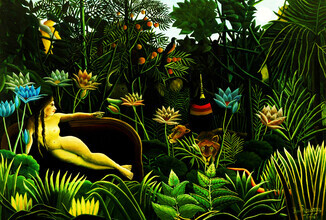 Henri Rousseau - Il Sogno - Fineart photography by Art Classics
