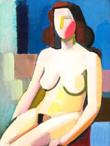 Art Classics, Vilhelm Lundstrøm: Sitzender weiblicher Akt (Deutschland, Europa)