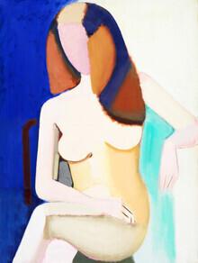 Art Classics, Vilhelm Lundstrøm: Seated Female Nude (Deutschland, Europa)