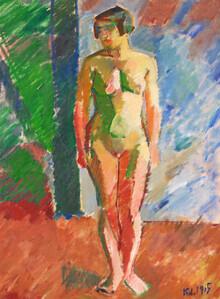Art Classics, Karl Isakson: Standing Model (Germany, Europe)