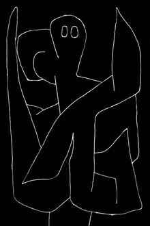 Art Classics, Paul Klee: Watchful Angel (Germany, Europe)