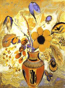 Art Classics, Odilon Redon: Etruskische Vase mit Blumen (Deutschland, Europa)