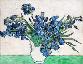 Art Classics, Irises by Vincent van Gogh (Germany, Europe)