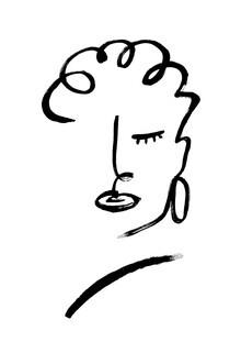 The Artcircle, Line Art - Gesicht inne Stärke von Studio Lignes (Deutschland, Europa)