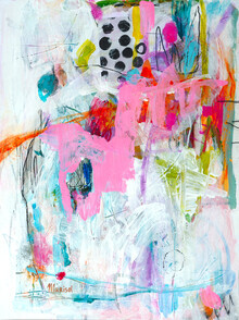 The Artcircle, I love pink von Marisol Evora (Deutschland, Europa)