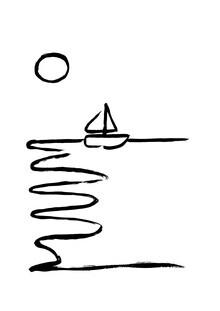 The Artcircle, Line Art - Segeln von Studio Lignes (Deutschland, Europa)