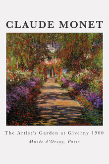 Art Classics, Claude Monet - The Artist's Garden At Giverny (France, Europe)