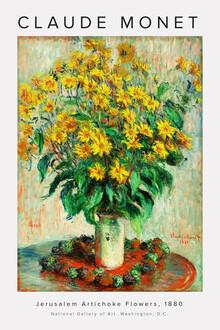 Art Classics, Claude Monet - Jerusalem Artichoke Flowers (Frankreich, Europa)