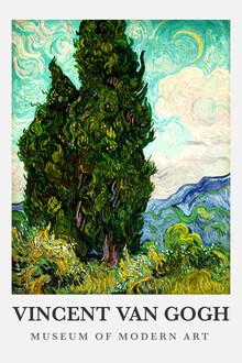 Art Classics, Vincent van Gogh: Cypresses (Germany, Europe)