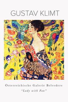 Art Classics, Gustav Klimt - Dame mit Fächer (Deutschland, Europa)