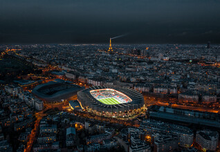 Georges Amazo, Our magnificent Parisian stadium (France, Europe)