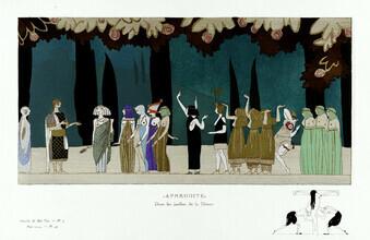 Art Classics, Aphrodite - In den Gärten der Göttin von Charles Martin (Deutschland, Europa)