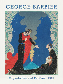 Art Classics, Empedocles and Panthea by George Barbier (Germany, Europe)