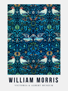Art Classics, William Morris exhibition poster V&A (Germany, Europe)