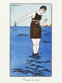 Art Classics, Costume de bain by George Barbier (Germany, Europe)