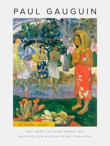 Art Classics, Hail Mary (La Orana Maria) von Paul Gauguin (Deutschland, Europa)