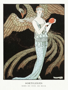 Art Classics, Evening dress by George Barbier (Germany, Europe)