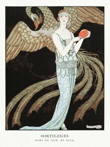 Art Classics, Abendkleid von George Barbier (Deutschland, Europa)