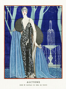 Art Classics, Alcyone by George Barbier (Germany, Europe)