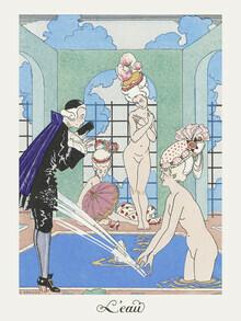 Art Classics, L'Eau by George Barbier (Germany, Europe)