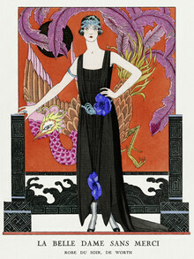 Art Classics, La belle dame sans merci by George Barbier (Germany, Europe)