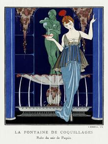 Art Classics, La Fontaine de coquillages von George Barbier (Deutschland, Europa)