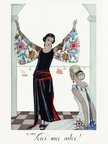 Art Classics, Voici mes ailes! by George Barbier (Germany, Europe)