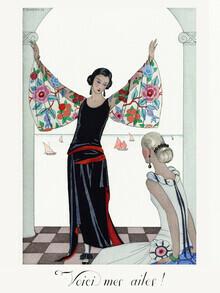 Art Classics, Voici mes ailes! von George Barbier (Deutschland, Europa)