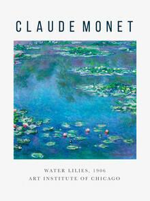 Art Classics, Ausstellungsposter: Water Lilies von Claude Monet (Deutschland, Europa)