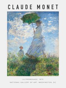 Art Classics, Ausstellungsposter La Promende von Claude Monet (Deutschland, Europa)