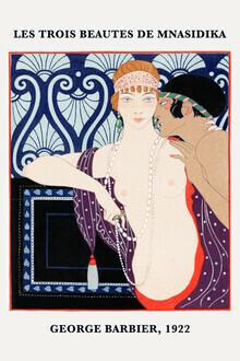 Art Classics, Les Trois Beautes de Mnasidika von George Barbier (Deutschland, Europa)