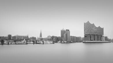 Dennis Wehrmann, Panorama Hafenskyline Hamburg (Deutschland, Europa)
