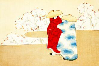 Japanese Vintage Art, Hanami season (Germany, Europe)