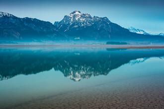 Martin Wasilewski, Dawn at Lake Forggensee (Germany, Europe)