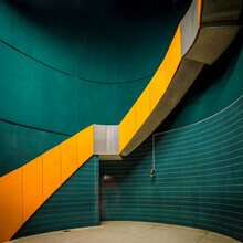 Franz Sussbauer, U-Bahn Spiraltreppe (Deutschland, Europa)