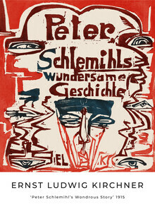 Art Classics, Peter Schlemihl's Wondrous Story by Ernst Ludwig Kirchner (Germany, Europe)
