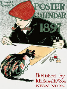 Vintage Collection, Poster Calendar by Edward Penfield (Germany, Europe)