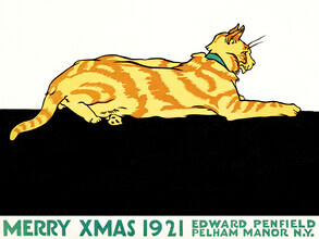Vintage Collection, Merry Xmas by Edward Penfield (Germany, Europe)