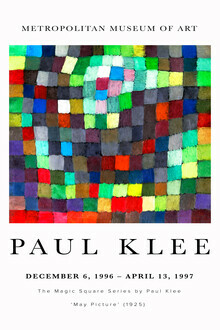 Art Classics, May Picture by Paul Klee (Germany, Europe)